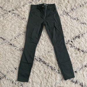 Gap Skinny Jeans 2R Army Green